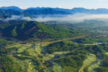 Ba Na Hills Golf Club-Aerial overview